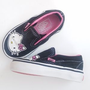 Hello Kitty Vans for girls size 5T